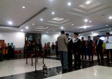 Pelantikan Dekan Fakultas Teknik Universitas Riau