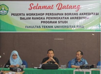 Workshop Borang Akreditasi