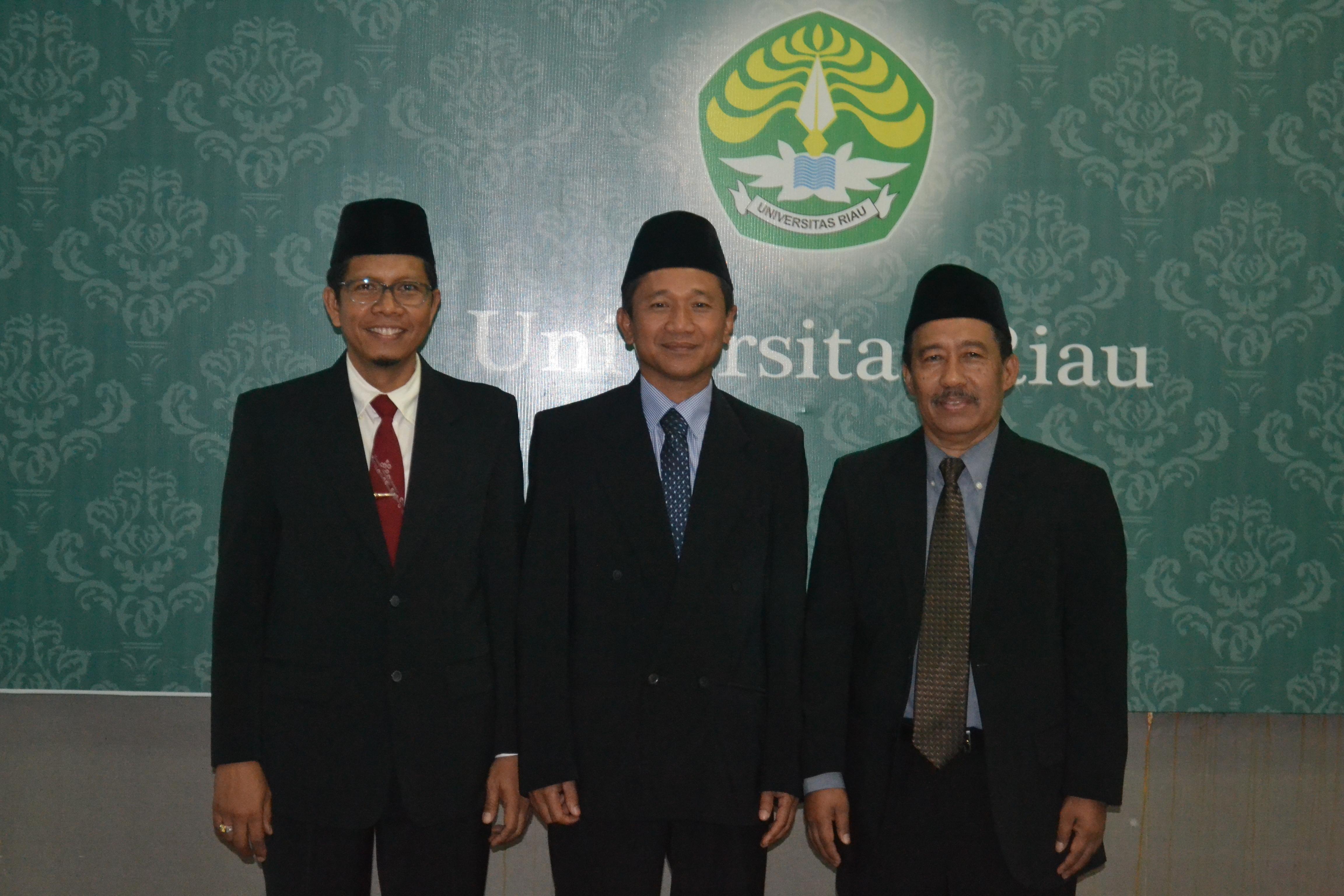Pelantikan Pejabat di Lingkungan Fakultas Teknik UR