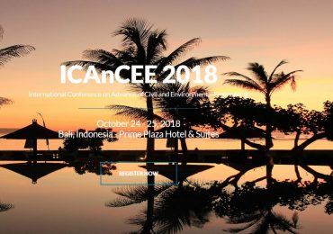 Call for paper ICAnCEE 2018 Conference